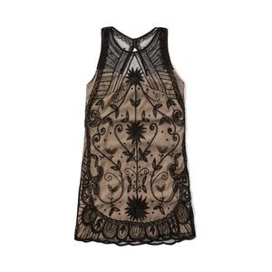 Abercrombie and Fitch Black and Gold Party Dress